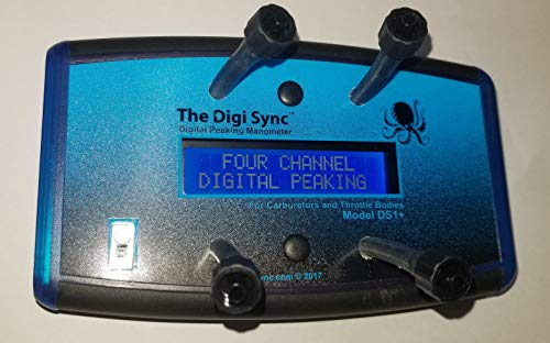 4-CHANNEL - The Digi Sync   Digital Throttle Body Sync Tool   Digital Carb Sync Tool   Vacuum Gauge (Digital Peaking Manometer)   NOT Syncpro