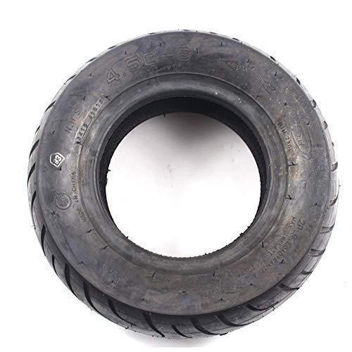 DIEFMJ Neumáticos de Scooter eléctrico, 4.50-6 Neumático de vacío Grueso Resistente al Desgaste 4.50-6 Neumático sin cámara para equilibrar el Scooter eléctrico del Coche