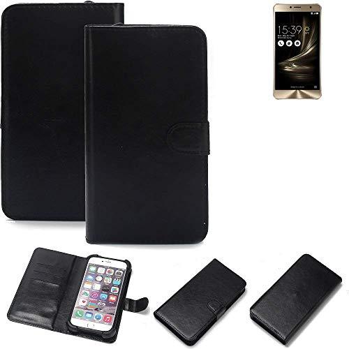 K-S-Trade® Handy Schutz Hülle Für Asus ZenFone 3 Deluxe (ZS550KL) Schutzhülle Bumper Schwarz 1x