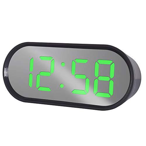 Acctim Digitale wekker, elektrisch, 65 x 150 x 50 mm, grijs