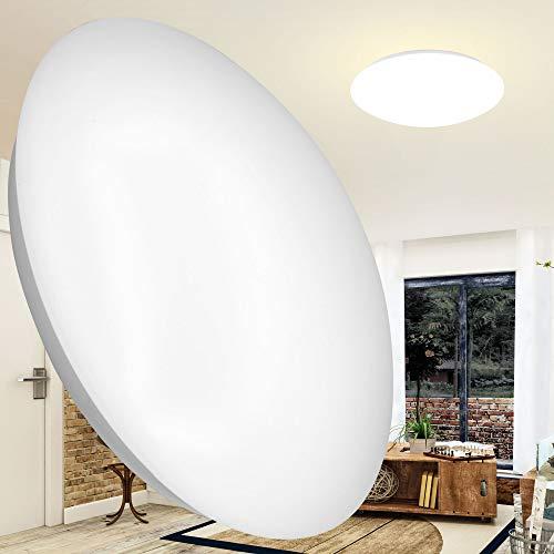 LED Deckenleuchte 24 Watt Neutralweiß 1630 Lumen OPAL rund Wandlampe Wandleuchte Deckenlampe Innenleuchte