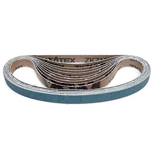VSM ZK713X Schleifband | 13 x 451 mm | 10 Stück | Körnung: P120