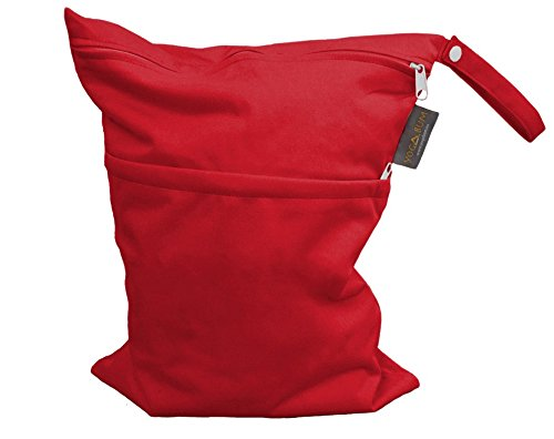 Yogabum Hot Yoga Borse - Borsa Wet Impermeabile (Red)