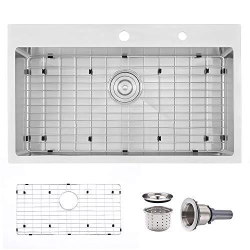 33 X 22 Stainless Steel Kitchen Sink Drop in