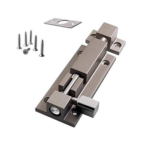 Zhi Jin 1Pc Thick Slide Barrel Door Bolt Latch Heavy Duty Gate Lock Security Slide Latch Lock...