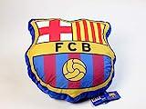 FCB FC Barcelona Cojín, 100% Poliester, Azulgrana, 35 x 35