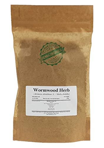 Ajenjo Hierba/Artemisa Absinthium L/Wormwood Herb # Herba Organica # Asensio, Ajorizo, Artemisia Amarga (100g)