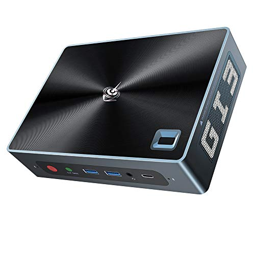 Beelink GTi Mini PC Windows 10 Pro,10thGen Intel i3-1005G1 (Up to 3.40 GHz),16GB DDR4 512GB SSD WiFi 6 Triple Display 4K Mini Desktop Computer Offiice/Gaming Support Auto POWER ON, WOL,RTC Wake
