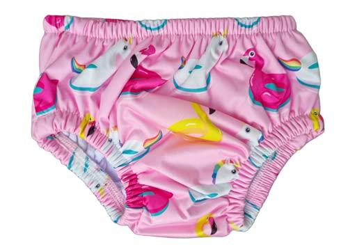 Disfraz de Ellepi de contencin para beb, paal, disfraz de playa y piscina para nio o nia, natacin 0 1 3 6 9 12 18 24 meses (unicornio, 18  24 meses)