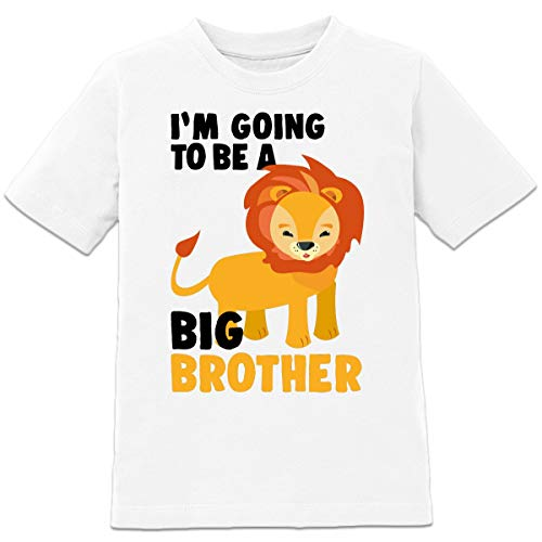 Shirtcity I'm Going to Be a Big Brother Lion Kinder T-Shirt by