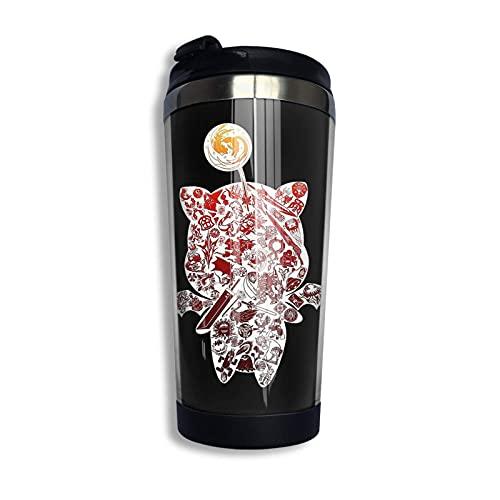 XCNGG Nobody Puts Baby In A Corner2 Taza de viaje Taza de café Vaso aislado al vacío de acero inoxidable 13.5 oz