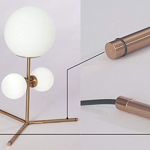 Lfixhssf creatieve bal decoratie tafellamp persoonlijkheid eenvoudige slaapkamer bedlampje Nordic modern glas tafellamp Lfixhssf