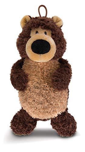 NICI 44078 Wärmflasche Grizzlybär Criz Lee, Plüsch,figürlich, Braun
