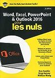 Word, Excel, PowerPoint et Outlook 2016 pour les Nuls mégapoche, 2e édition