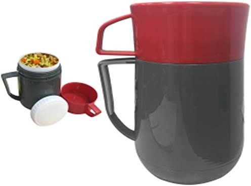 lowest always-quality Lunchbox Hot discount or Cold Food Jug Leak Proof w/Cup outlet sale BPA/ASBESTOS free 1 LITER Vacuum Glass Insulated outlet sale