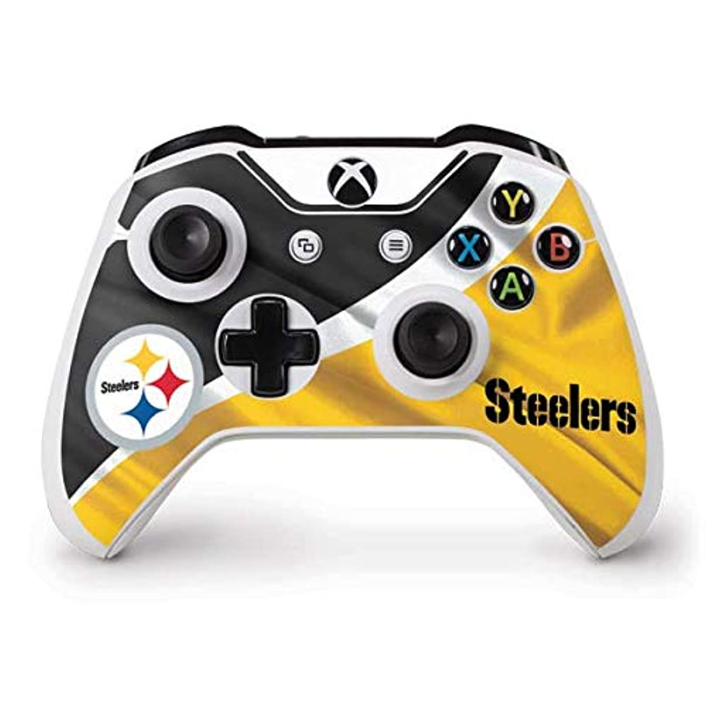 Skinit Pittsburgh Steelers Xbox One S Controller Skin - Officially Licensed NFL Gaming Decal - Ultra Thin, Lightweight Vinyl Decal Protection