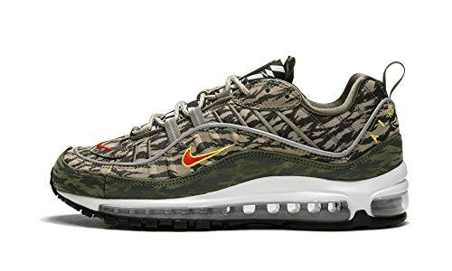Nike SNEAKES Air Max 98 AOP Verde MILIATRE AQ4130-200 (41 - Verde)