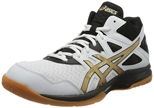 ASICS Herren Vapor 12 Club Gs Mg Sneaker, White Pure Gold, 45 EU