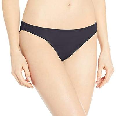 Roxy Junior's Beach Classics Moderate Bikini Bottom, True Black, XS