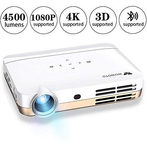 WOWOTO Vidéo Projecteur, 3500Lumens 1280x800 résolution HD...