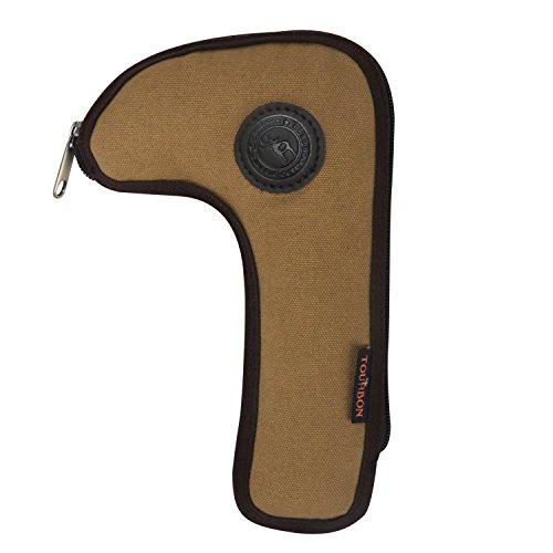Tourbon Jagd Schießen belastbares Leinen Gewehr Bolt Mantel Halter