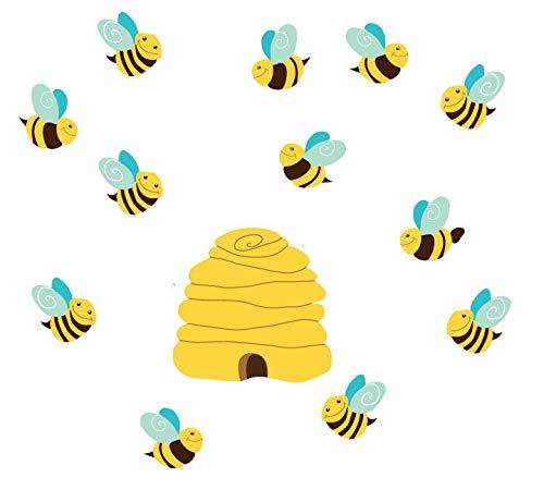 Bienenstock Wandtattoos Bienenstoff Wandtattoos