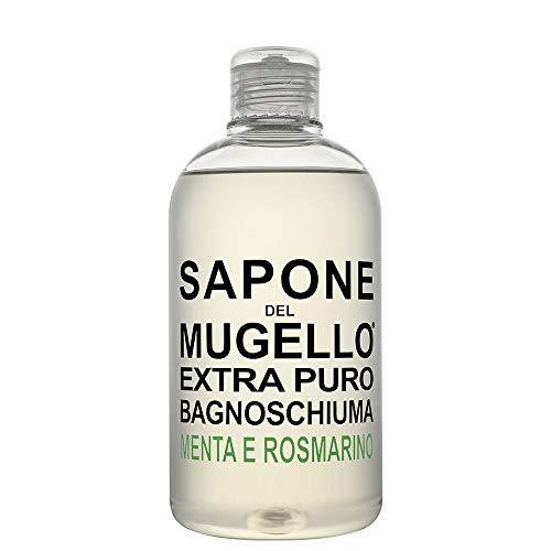 Bagnoschiuma Extra Puro Menta e Rosmarino SAPONE DEL MUGELLO Bagnoschiuma Unisex 500 ml Flacone