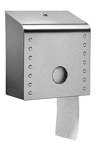 Italy LRR31/NSS Dispenser Inox Midi toiletpapier Jumbo, gesatineerd.