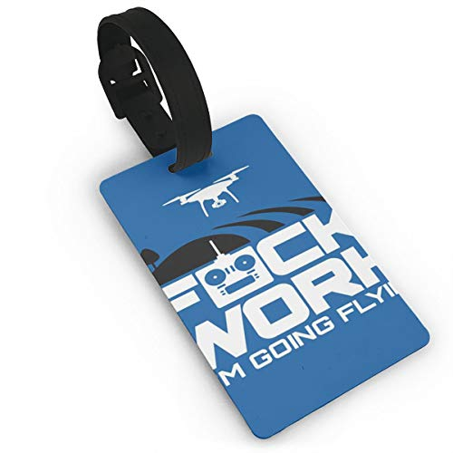 GSsenxu Cruise Ships Luggage Tags,Cute Luggage Tag ,Personalized Travel Tags For Women Men-Aerial Drone Fuck Work Im Going Flying Fpv Air