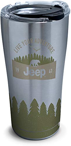 Tervis Jeep Triple Walled Insulated Tumbler, 20oz - Stainless Steel, Live Your Adventure