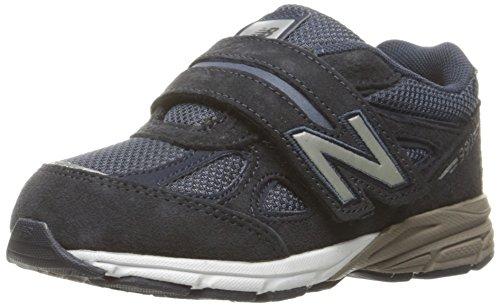 New Balance New Balance KV990V4 Infant Running Shoe (Infant/Toddler), Navy, 17 M EU