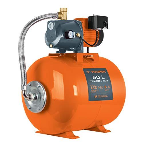 Truper HIDR-1/2X50, Bomba (Equipo hidroneumático) Uso doméstico, 50 Litros