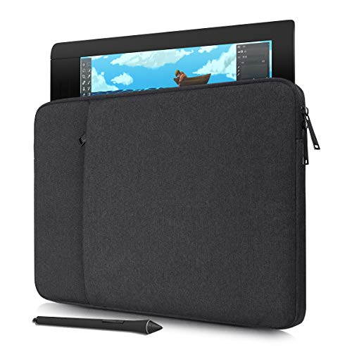 Waterproof Drawing Tablet Sleeve Protective Case for Wacom Cintiq Pro 16/ Cintiq 16/ Cintiq 22/ Intuos Pro PTH860, Wacom Carrying Sleeve Case (Space Grey)