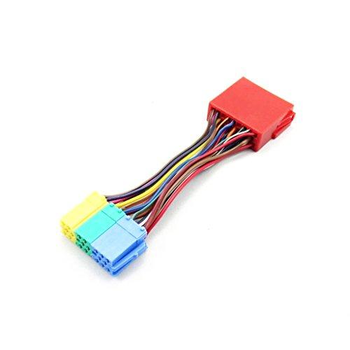 Almencla Cable Adaptador Adaptador De Distribuidor De 20 Pines Mini Conector De Navegación ISO