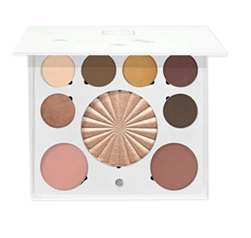 Ofra Mini Mix Face Makeup Palette! Includes Eye Shadows, Bronzer, Blusher And Highlighters! Lightweight, Magnetic And Refillable Mini-Sized Full Face Palette! Vegan & Cruelty Free! (New Solstice)
