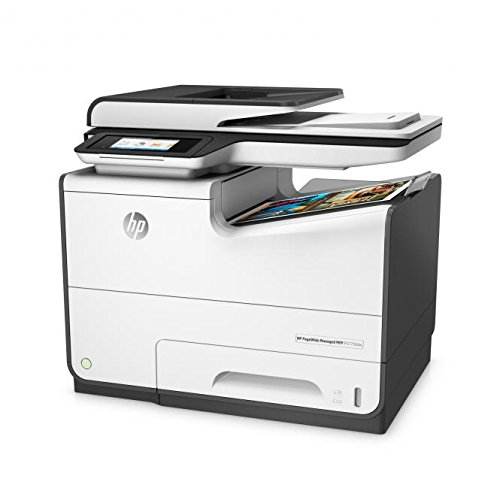 HP PageWide Managed P57750dw 2400 x 1200DPI Inyección de tinta térmica A4, Negro, Impresora multifunción, Colour printing, Colour copying, Colour scanning, Colour faxing