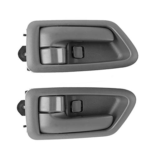 2PCS Interior Inside Door Handle Front Rear Left Driver & Right Passenger Side for Toyota Camry1997 1998 1999 2000 2001 Replace OE# 91002 91006 91003 91007