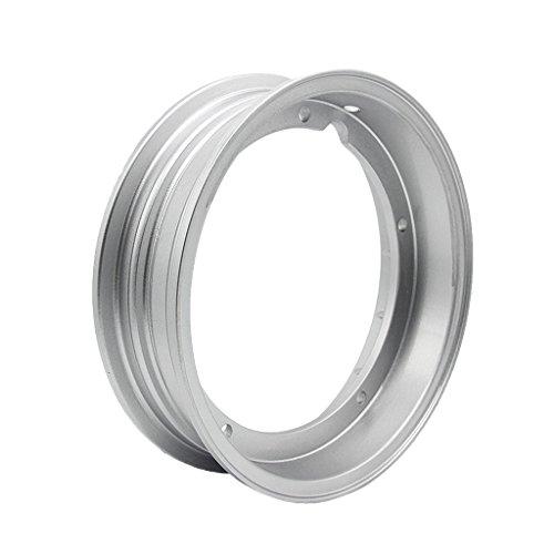 D dolity 1pieza Plata Color Motor–Rueda Llanta de Llanta circulares vorderes hinteres Rueda para Vespa PX LML T5PX 125150200T5ET3