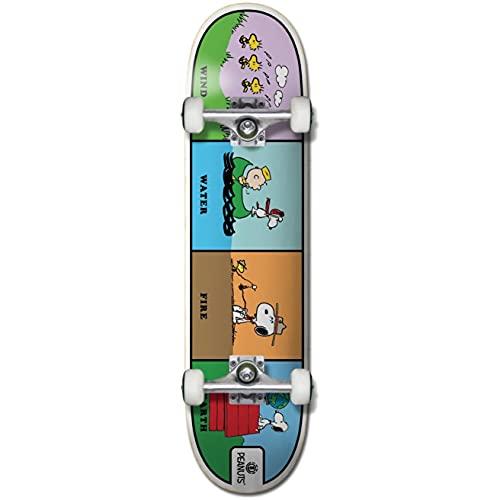 Element : Peanuts Wind Water Fire Earth Skateboard 8'