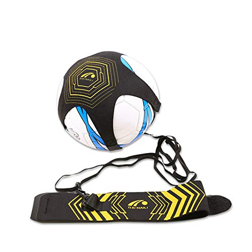 Best Price kaimaily Football Kick Trainer, Training Aid Football Skills Improvement with Belt Elasti...