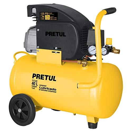 Pretul COMP-40LP, Compresor 40 litros, lubricado, potencia máxima, 3 HP, 120 V
