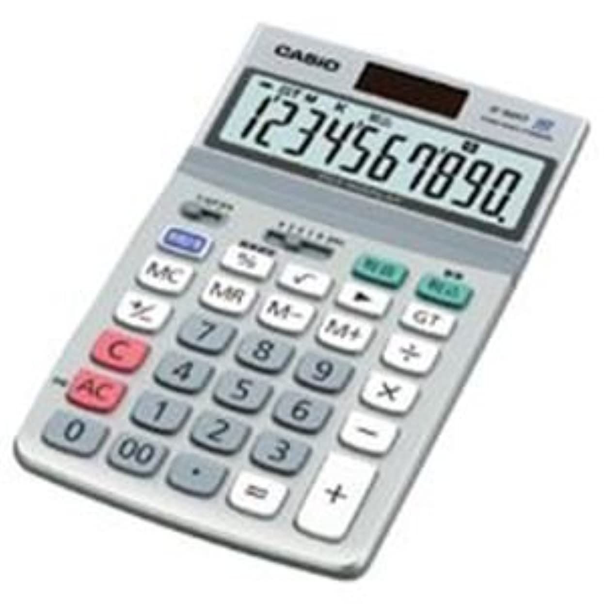 時代遅れトランペットスポンサー(業務用2セット)カシオ CASIO 電卓 JF-100GT-N 〈簡易梱包