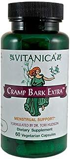 Vitanica Cramp Bark Extra, Menstrual Support, Vegan, 60 Capsules