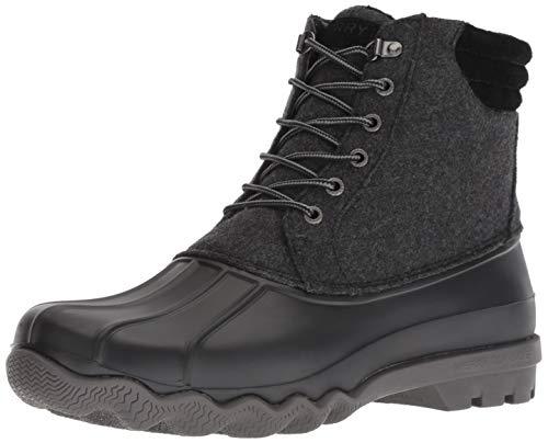 Sperry Men's Avenue Duck Wool Rain Boot, Grey, 7 M US