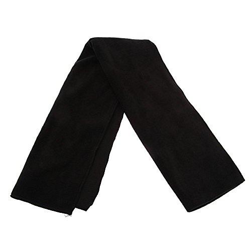 Textiles Universels Echarpe polaire - Homme (158cm x 26cm) (Noir)