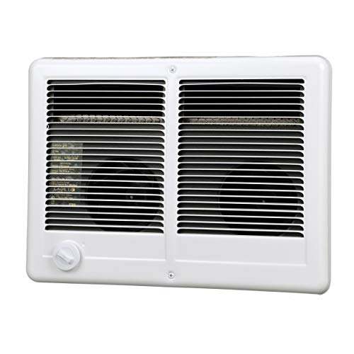 Cadet Com-Pak Twin Electric Wall Heater with Thermostat (Model: CSTC402TW), 240V, 4000W, White