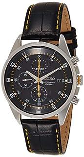 Seiko Men's Analogue Quartz Watch with Leather Strap – SNDC89P2 (B005HIREJK)   Amazon price tracker / tracking, Amazon price history charts, Amazon price watches, Amazon price drop alerts
