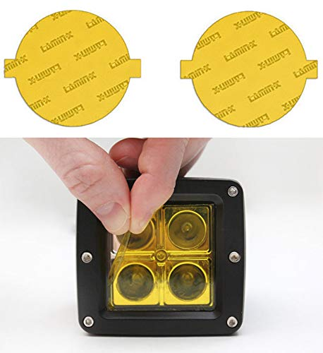 yellow fog light covers - 3
