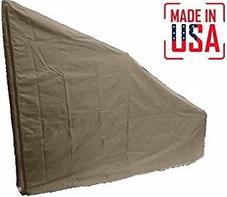 The Best Protective Cover for Elliptical Machine | Rear Drive. Heavy Duty UV/Mold/Mildew/Water Resistant Cover Ideal for Indoor/Outdoor Use. Made in USA with 3-Year Warranty.