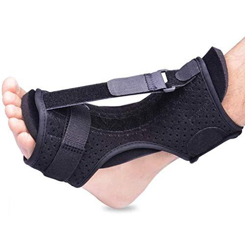 ZHOUHUAW Plantarfasziitis-Klammer,Orthopädische Fußschienen,Einstellbare Elastische Dorsale Nachtschiene,Ferse,Knöchel,Schmerzen,Ferse,Fußgewölbe